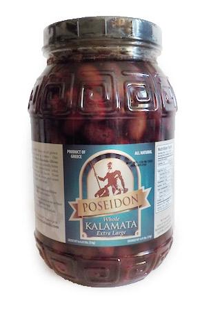 Poseidon Kalamata Olives 2000g