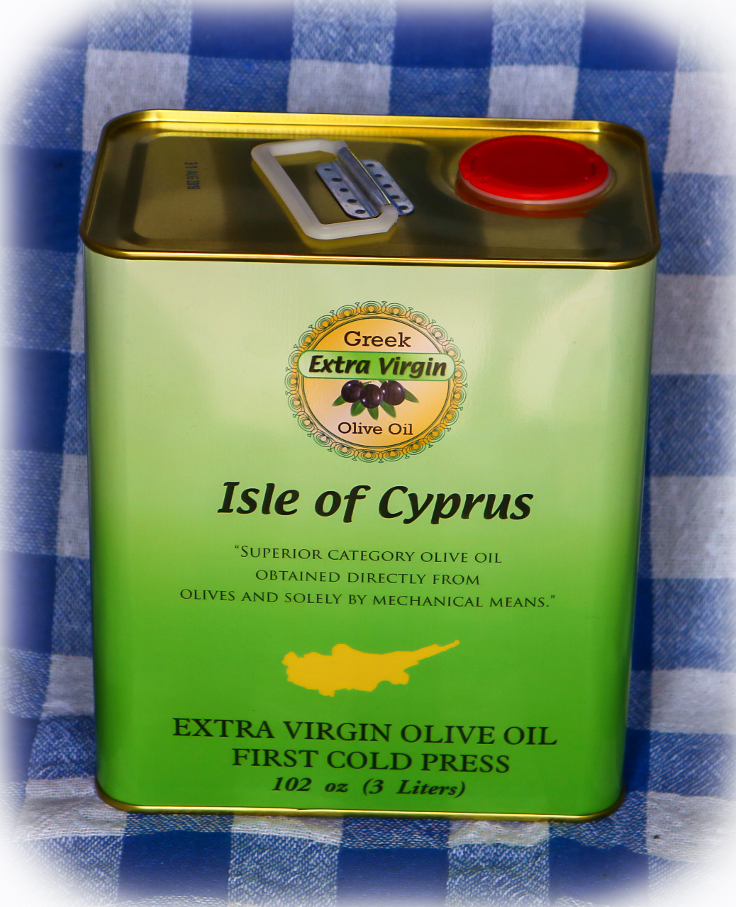ISLE OF CYPRUS EXTRA VIRGIN OLIVE OIL  3L