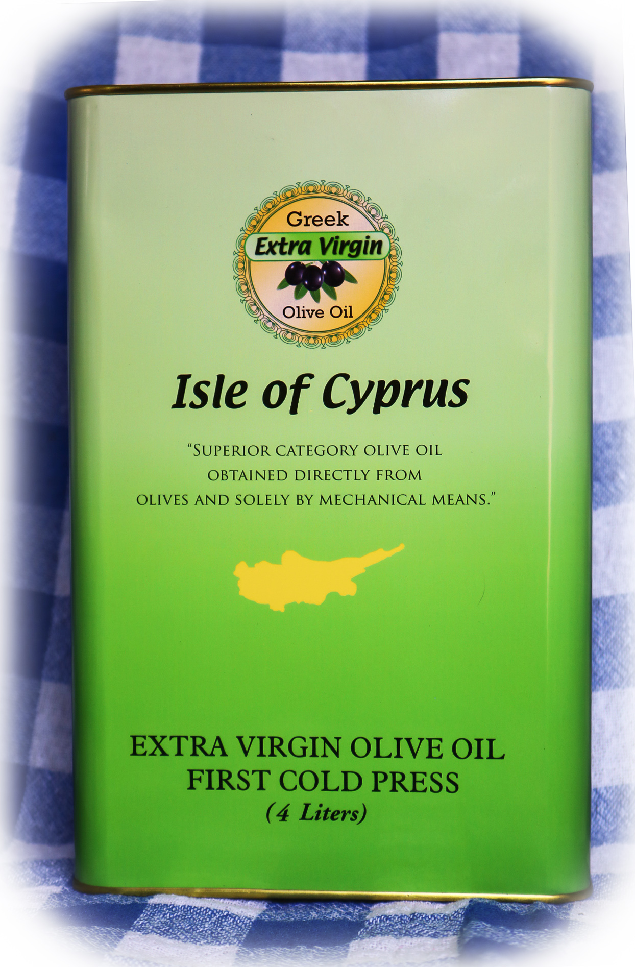 ISLE OF CYPRUS EXTRA VIRGIN OLIVE OIL  4L