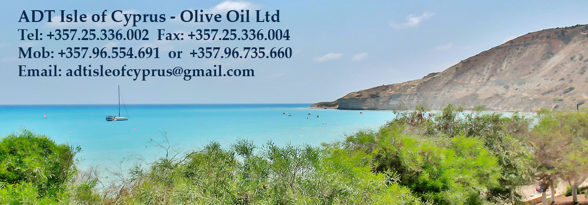 Welcome to ADT Isle of Cyprus – Olive Oil Ltd!